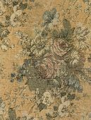 Vintage Tapestry Floral Fabric
