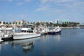 Boats At Rainbow Harbor
