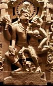 stock photo of kamasutra  - Statue of holy couple south east of Asia - JPG