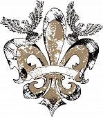 fleur de lis emblem