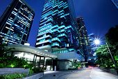 Hong Kong corporate building