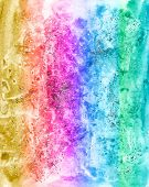 Abstract Watercolour Multicolor Background For Scrapbooking And Other Design