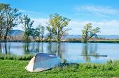 stock photo of crimea  - Lake in Crimea - JPG