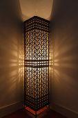stock photo of debonair  - The lighting of art decorate room or home - JPG