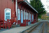 Old Steam Locomotive Station