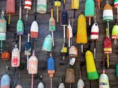 Wall of Buoys