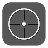 pic of crosshair  - The crosshair icon - JPG