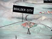 3D Model/Map Of Boulder City, Colorado