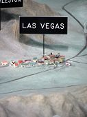 3D Model/Map Of Las Vegas, Nevada