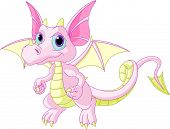 Cartoon Baby Dragon
