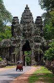 Angor Thom Gate