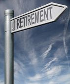 Retirement Sign Clipping Path
