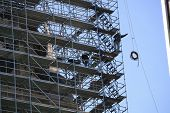 Workers on Scaffold