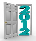 Stepping Through Door Into 2012