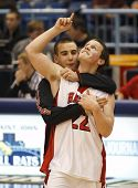 Basketball Boys Celebration