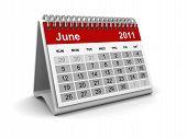 Calendar 2011 - June