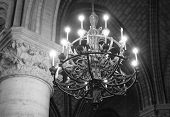 Notre Dame Cathedral Chandelier