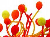 Yellow And Orange Balloons