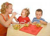 El placer de comer saludable