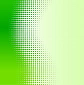 Green half-tone background. Vector illustration.