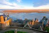 View From Mont Saint-michel Abbey