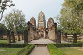 Ancient City Of Sukothai In Thailand