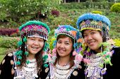 Hmong Hill Tribe Girls