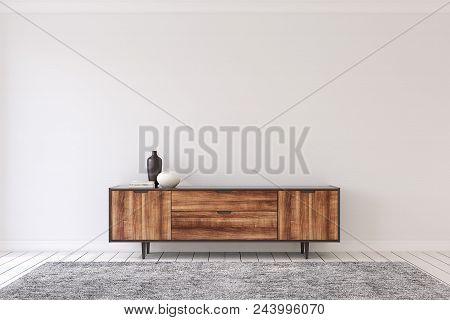 Interior With Modern Dresser Interior
