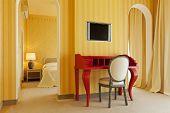 interior luxury apartment, comfortable room