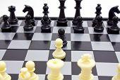 Starting Of Chess Game