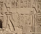 Relief At Precinct Of Amun-re