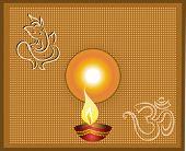 image of ganpati  - Ganpati Diwali Greeting - JPG