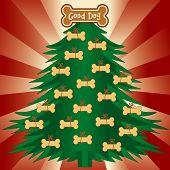 Weihnachtsbaum für gute Hunde