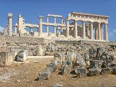 Greek ancient temple - Aphaia - Aegina