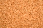 Photo of texture of an empty cork board