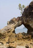 Arch In Limestone