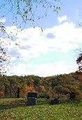 Fall West Virginia Cemetery