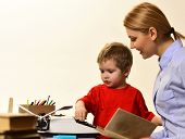 Great Teacher Conveys Sense Of Leadership To Students, Teachers Possess Good Listening Skills, Teach poster