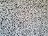 Light Gray Skim Coat Cement Wall Texture, Background poster
