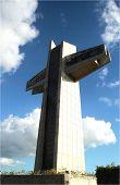 300' Tall Cross In Puerto Rico
