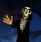 Cartoon Grim Reaper