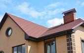 Asphalt Shingles House Roofing Construction, Repair. Problem Areas For House Asphalt Shingles Corner poster