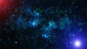 Deep Space. High Definition Star Field Background . Starry Outer Space Background Texture . Colorful poster