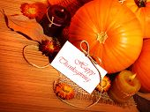 Thanksgiving Holiday Decoration Border