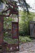 Puerta de jardín Zen