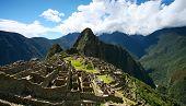 Machu Picchu, Peru, Top Wide View