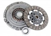 picture of clutch  - Spare parts of motor vehicle forming clutch plate and disc - JPG