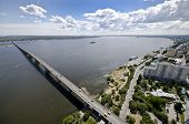 Bridge Across The Volga River