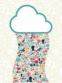 Cloud Computing Social Media Network