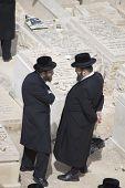 Dos hombres judíos Hassidic